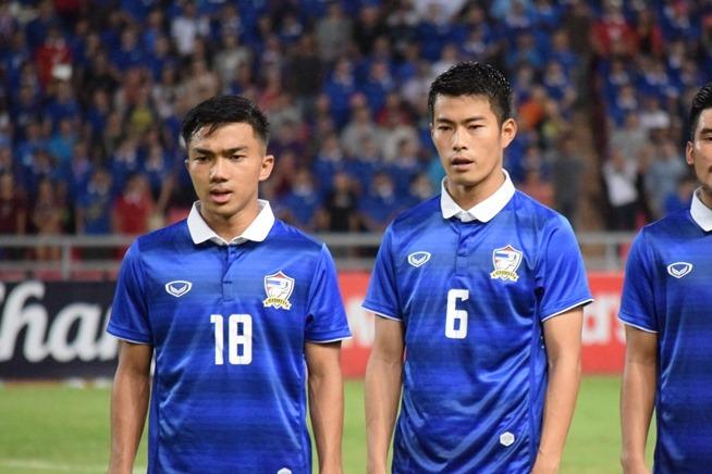 A代表でも中心選手のチャナーティップ(左)とサラ