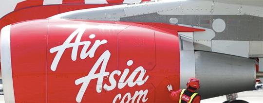 焦るエアアジア