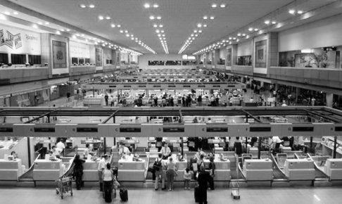 ドンムアン空港はほぼいつもどおり