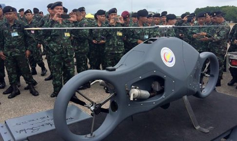 これがタイ式軍用ドローン