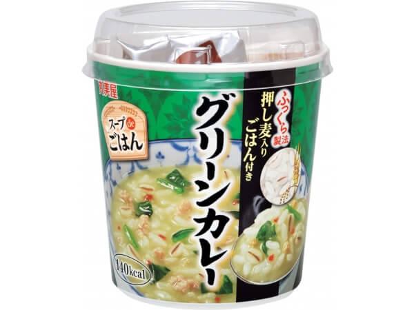 スープでごはん