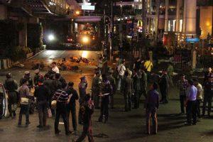 バンコク中心部で爆発事件が発生
