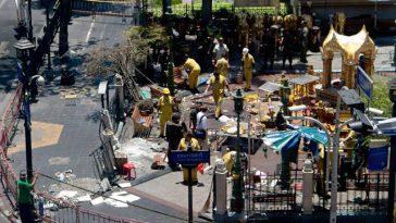 爆発事故の翌日/出展:thairath