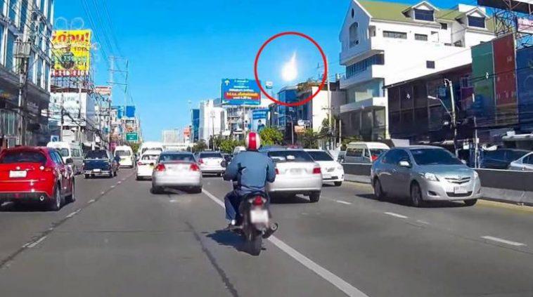 タイに落ちた火の玉はUFOか隕石か!?