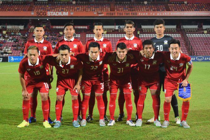 タイサッカーの歴史を作るU18タイ代表