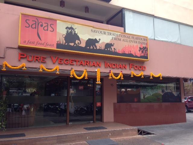 ドーサの食べられるお店、SARAS