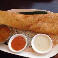 タイで食べるインドの「ドーサ」