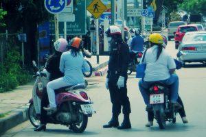 タイ警察の罰金割引