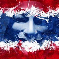 アノニマス 全タイ警察のホームページをダウン