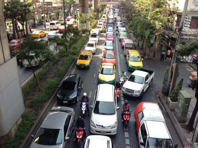 バンコクの大渋滞