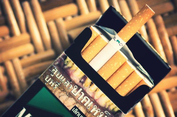 タイのタバコが値上げ
