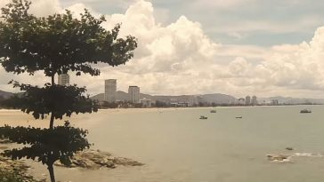 フアヒンのビーチ