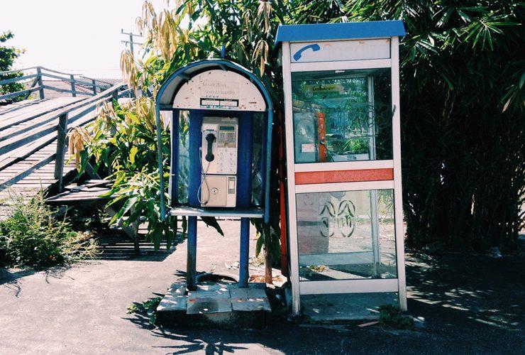 不要電話ボックスの再利用