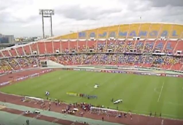 2008年にバンコクで行われた「日タイ戦」