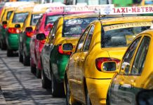 タイのタクシー料金が6月改正