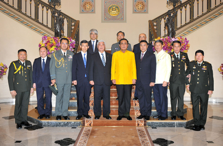 タイ首相府にて