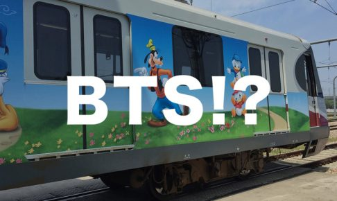 上海ディズニー列車