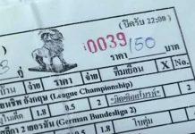 タイでサッカー賭博強化