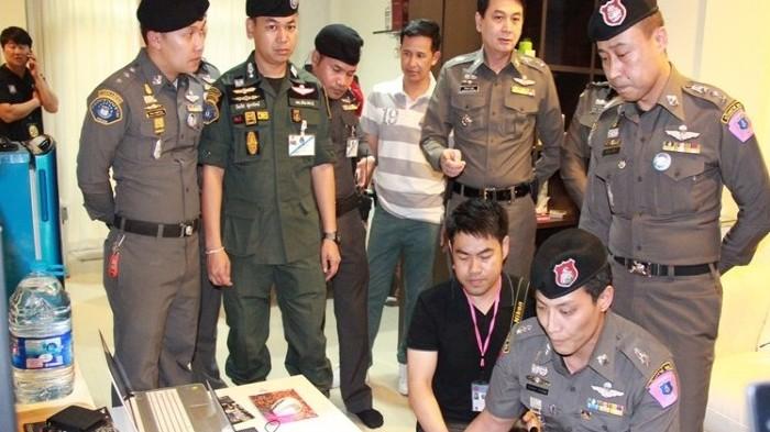 タイでサッカー賭博をしていた韓国人を逮捕