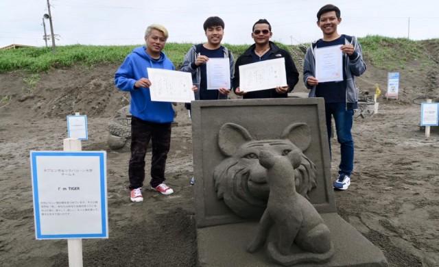 2位を獲得した「I'm TIGER」 / 出典:bangkokbiznews