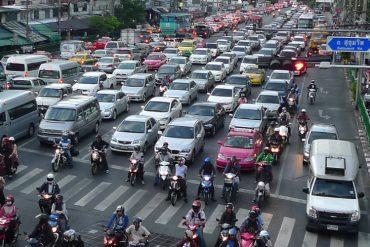 バンコクが渋滞ランキンで1位