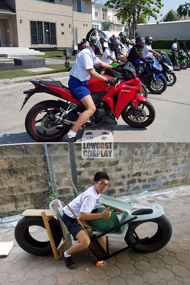 タイの金持ち学生