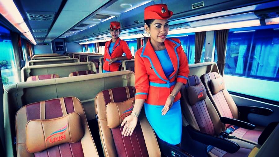 バンコクでVIPバスの運行開始