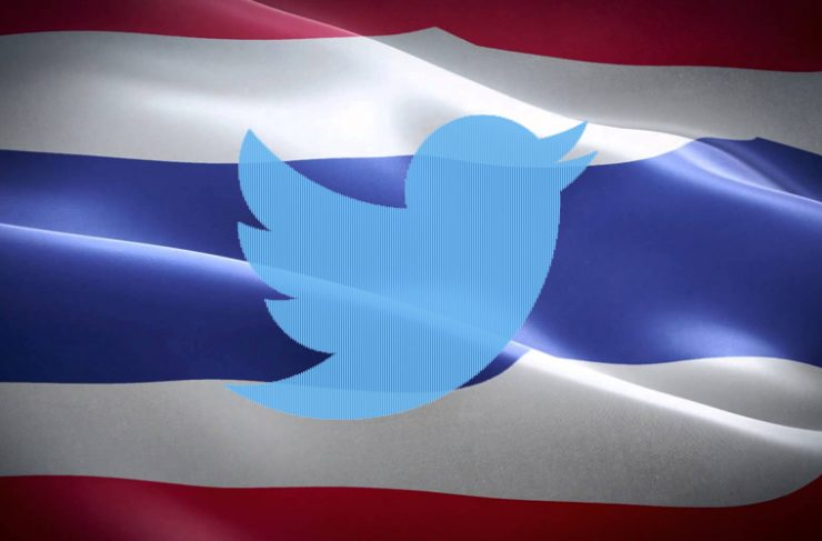 タイ ツイッターの第一人者