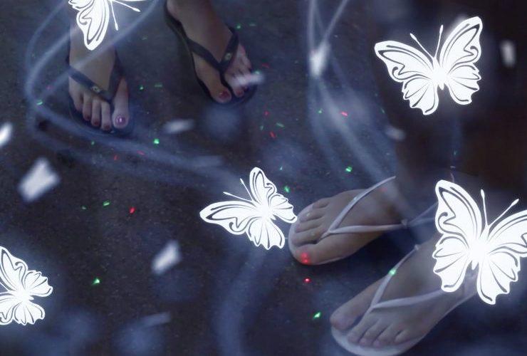 バンコクの蝶々