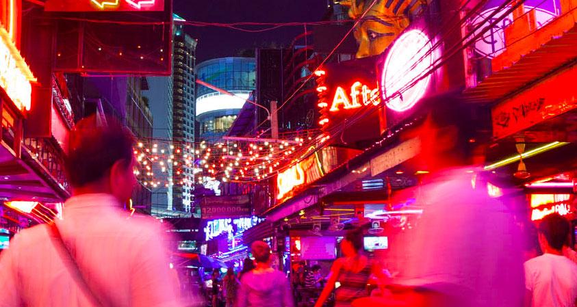 タイの夜遊び日本人