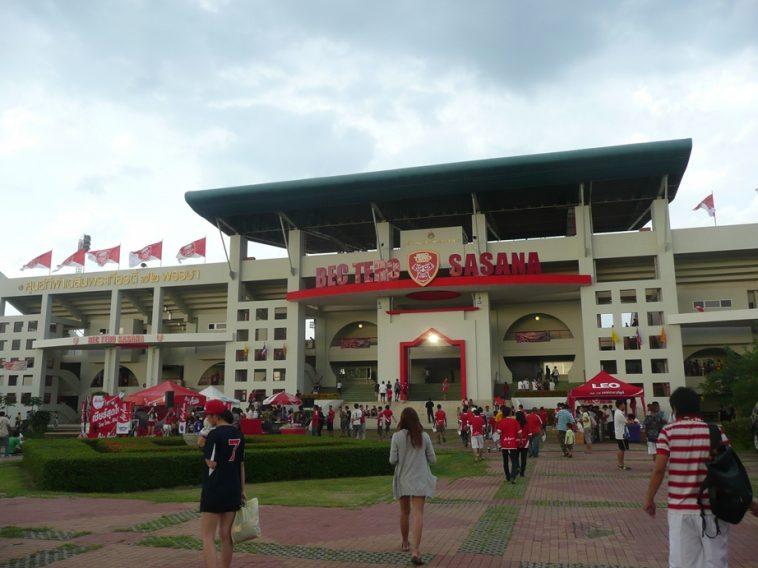 タイホンダFCとの試合が行われる72nd Anniversary Stadium