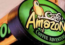 タイのカフェ・アマゾン