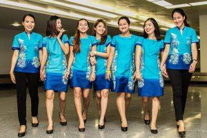 タイのプーケット航空に国際線ターミナル