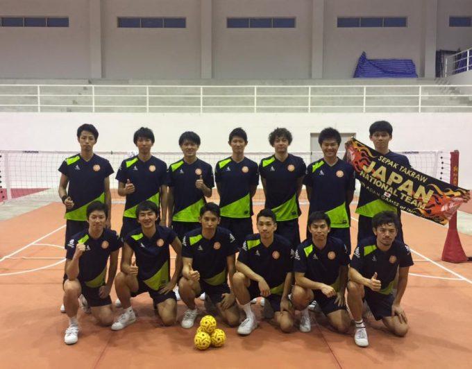 キングスカップに出場する男子日本代表チーム