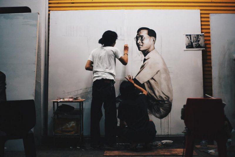 タイ国王 ラマ9世 ©Knatz
