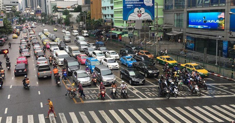 バンコクのビジネス街アソーク