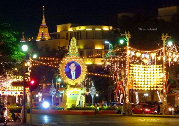 ラジャダムナンクラン通り ©Manager online