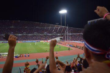 スタジアムの様子