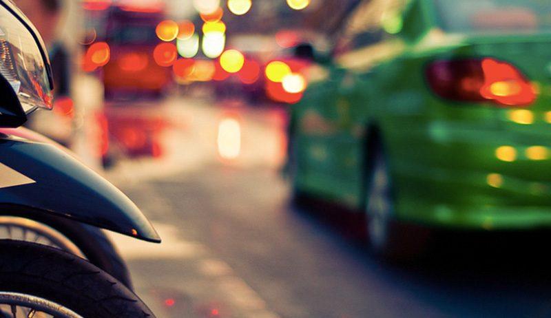 緑のタクシー