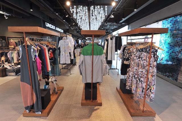 サイアムセンターのファッションコーナー