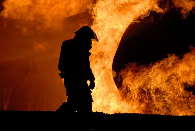 勇敢なタイ人消防士