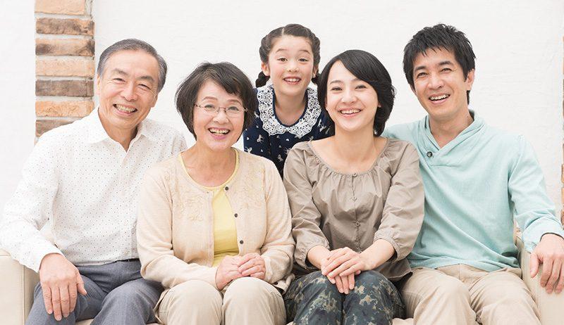 家族とゆっくり話せる時間