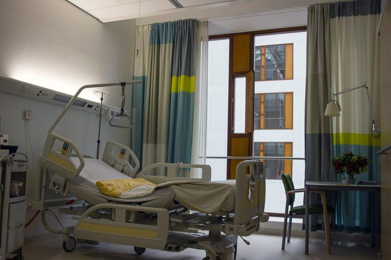 タイの病院で入院