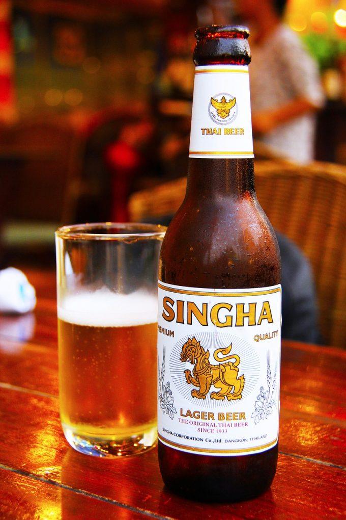 タイのシンハビール