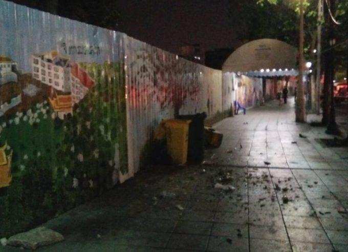 ラチャダムヌーン・クラーン通りで爆発 ©matichon