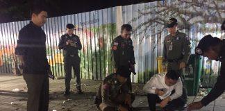 バンコクのラチャダムヌーン・クラーン通りで爆発 ©matichon