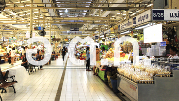「世界の生鮮市場ベスト10」に選ばれたバンコクのオートーコー市場 ©Positioning