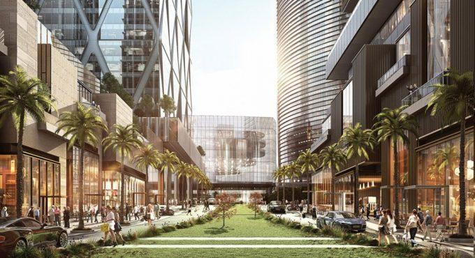 新プロジェクト「One Bangkok」内部のイメージ ©soimilk