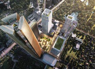スアンルム・ナイトバザール跡地の新プロジェクト「One Bangkok」 ©soimilk