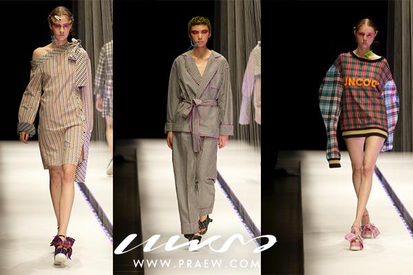 タイの綿布「パーカオマー」がファッションショーに登場 ©praew